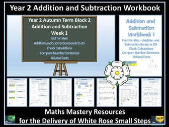 Addition and Subtraction: Year 2 - Autumn Term  - Workbook