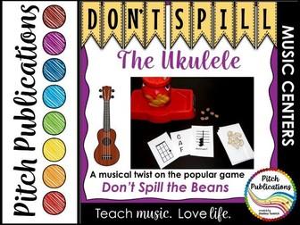 Music Center: Don't Spill the Ukulele! - Ukulele Centers Game