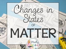 Changing States of Matter: Lesson and Interactive Notebook Activity