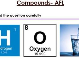 KS3 Compounds six mark question