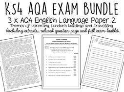 AQA GCSE English Language Paper 2 BUNDLE by laurajholder