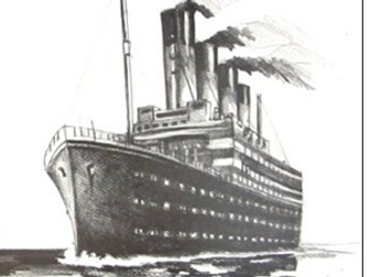 Titanic Art - Perspective drawing