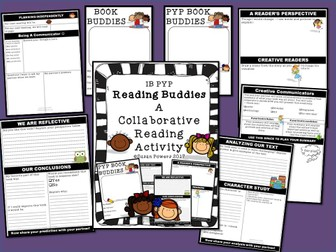 Book Buddies A Paired Reading Activity