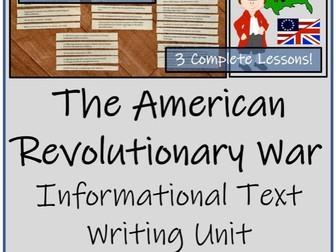 UKS2 History - American Revolutionary War Informational Text Writing Unit