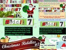 Christmas Riddle Bundle AMAZING VALUE #1