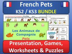 French Pets BUNDLE (Les Animaux de Compagnie)