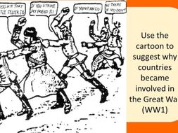 Causes of WW1 lesson