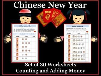 Chinese New Year:  Adding Money