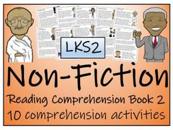 LKS2 Literacy - Non-Fiction Reading Comprehension Activity Book Volume 2 (10 Activities) £4.00