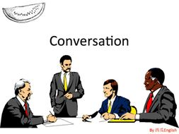 Art of Conversation ESL Presentation & Lesson Plan