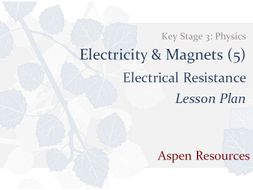 Electrical Resistance Key Stage 3 Physics Electricity