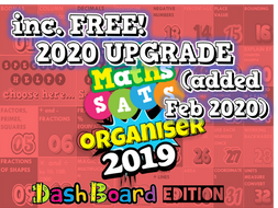2019 and 2020 KS2 SATs Revision Ultimate 15-in-1 Maths Organiser