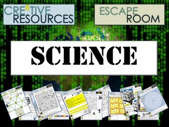 Science Back to School Escape Room
