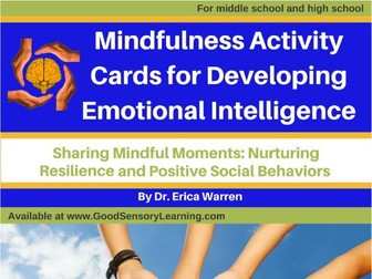 Mindful Activity Cards for Developing Emotional Intelligence