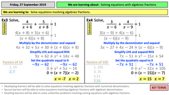 7.4h-Solving-equations-algebraic-fractions-TES.pptx