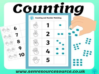 Counting matching number to objects