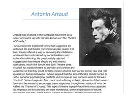 GCSE/A-LEVEL Artaud case file