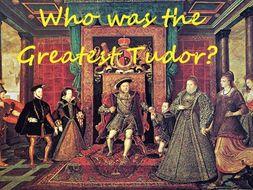 3. Mary Tudor Vs Edward VI. KS3 Who was the greatest Tudor?