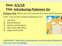 Pokemon Go - Eduqas GCSE Media Studies