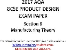 AQA Product Design GCSE Section B