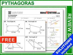 Pythagoras (GCSE Topic Review)