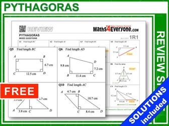 Pythagoras (GCSE Revision)