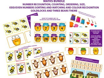 MATHS FOR EARLY YEARS BUNDLE