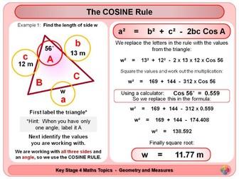 Trigonometry - Non right angled triangles KS4