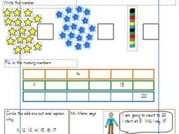 Count and write numbers to 20 differentiated worksheets year 1 count and write numbers to 20 differentiated worksheets year 1 white rose ibookread Download