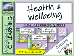Health + Wellbeing PSHE Assessments