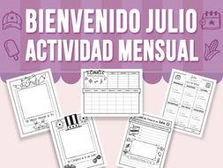 Bienvenido Julio - Actividad Mensual