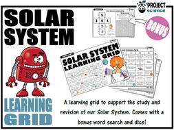 Solar System Learning Grid