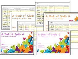 Phonics for SEN: Intermediate Level Spelling Practice Books