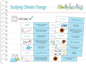 Studying Climate Change - Loop Game (KS5)