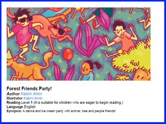Can you spot it? Forest Friends Party (Reading Level 1)