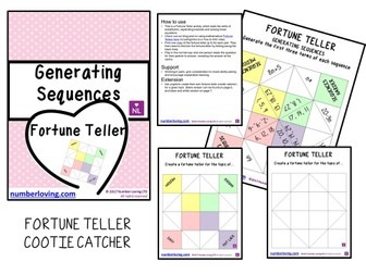 Generating Sequences (Cootie Catcher)