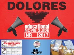 Dolores Documentary Movie Guide | Questions | Worksheet (NR - 2017)