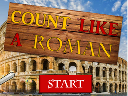 Pick-a-Puzzle: Learning Roman Numerals