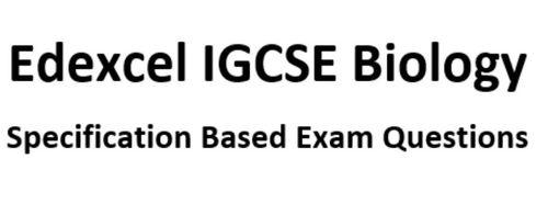 9-1 Edexcel IGCSE Biology specification based exam