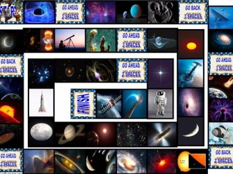 Space and Astronomy Animated Board Game-Answer Key