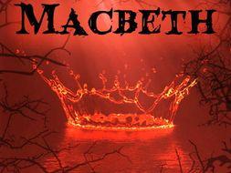 AQA English Literature GCSE Macbeth exam style questions