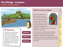 Wessex Resistance - Interactive Teaching Book - The Vikings KS2