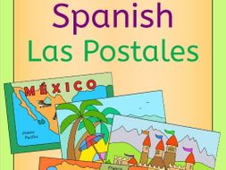 Spanish Summer Holiday - write a postcard - tarjetas postales