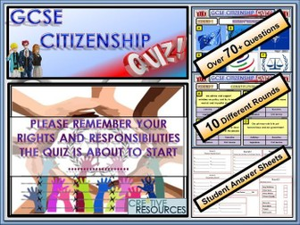 End of Year Citizenship Quiz