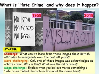 Hate Crime Extremism