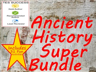 Ancient History Super Bundle