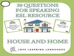 ESL Speaking Questions - House and Home