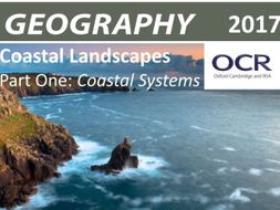 2017 OCR AS/A-Level Geography Coasts Revision Guide