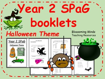 Year 2 SPaG booklets - Halloween theme