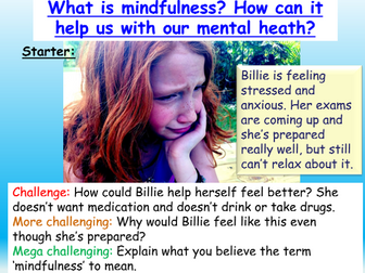 Mental Health : Mindfulness Wellbeing